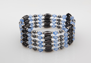 Light Blue and Black Magnetic Wrap