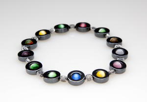 Multi-Color Magnetic Stretch Anklet