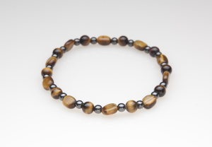 Tiger Eye Magnetic Stretch Anklet