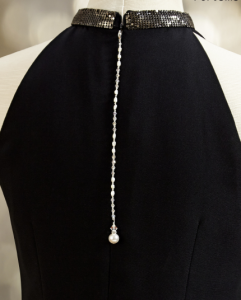 Z0113-PRLCR black dress